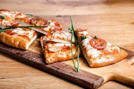 מנות שף - גרייס - פיצה טבעונית