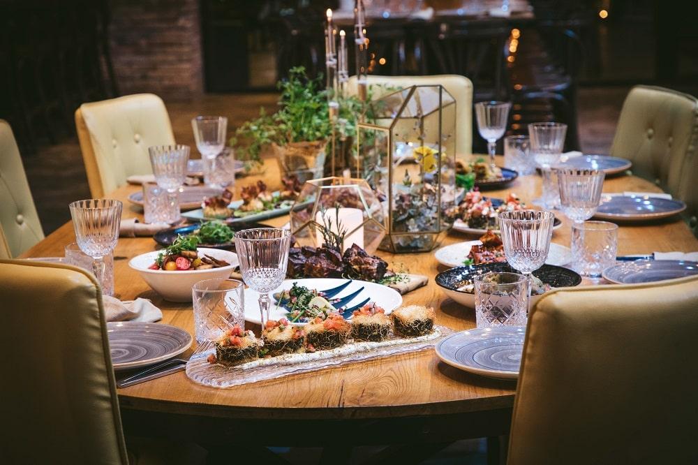 גרייס - מטבח שף - שולחן ערוך