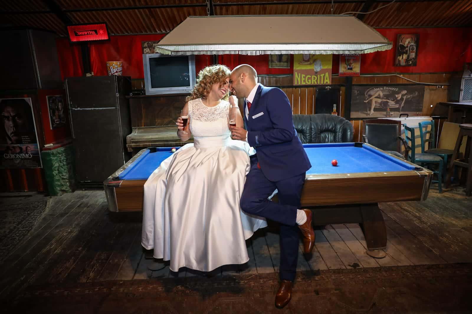 חתונת בזק בגרייס - ימית ונדב