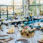 flowers dining