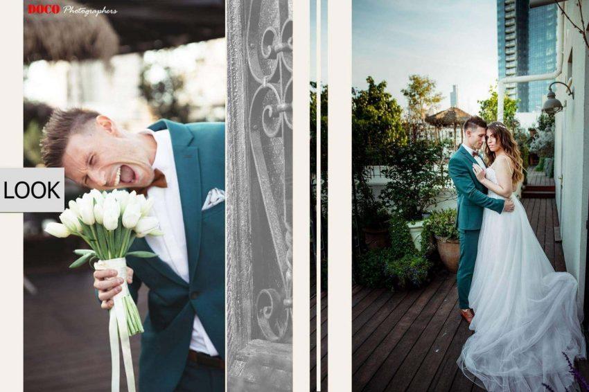חתונה במרכז