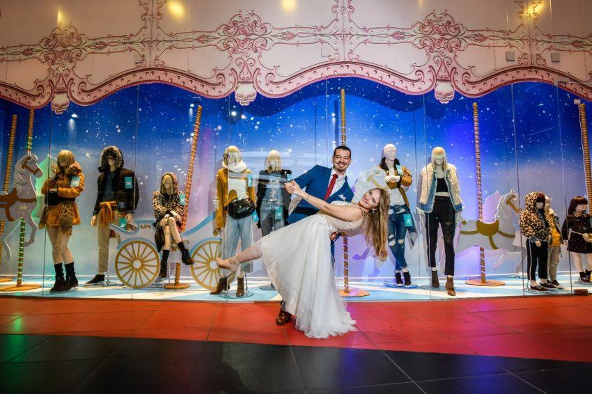 חתונה בגרייס - ויקטוריה וחיים - זוג מהאגדות