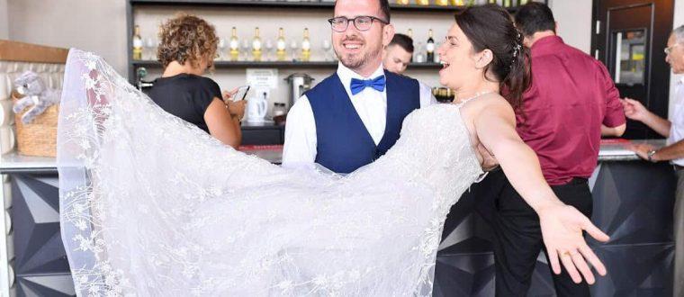 חתונת הפלאות: מסיבת החתונה האגדית של קארין וגיא